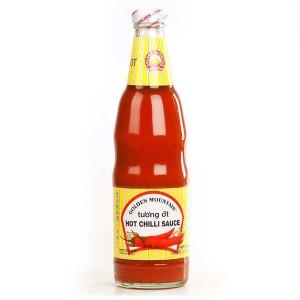 Hot chilli sauce - Sauce forte au piment thaï - Tu'o'ng ôt - Bouteille 680g
