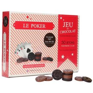 Jeu de poker en chocolat - Jeu en chocolat