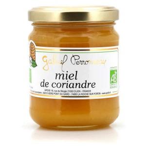 Miel de Coriandre bio - Pot 250g