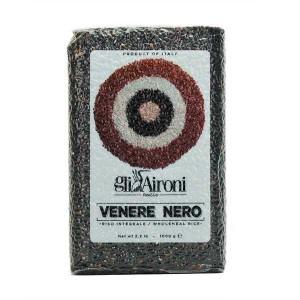 Riz noir italien Venere Nero - Paquet 1 kg
