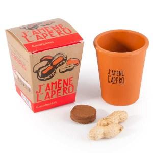 Pot de culture J'amène l'apéro : graines de cacahuètes - 1 pot