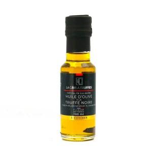 Huile d'olive vierge à la truffe noire - Bouteille 100ml