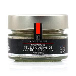Sel de Guérande à la truffe d'hiver - Pot de 100g