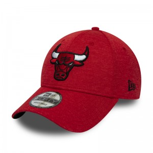 Casquette NBA Chicago Bulls New Era Team Shadow Tech 9Forty Rouge