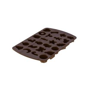 Moule à chocolats de Noël 24 empreintes Mastrad