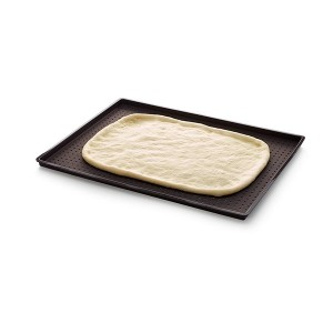 Plaque à pizza perforée en silicone Lekue