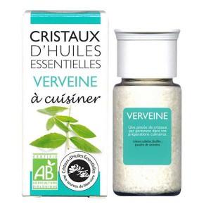 Verveine - Cristaux d'huiles essentielles à cuisiner - Bio - Flacon 10g