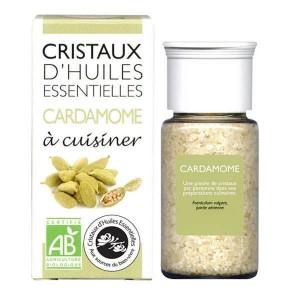 Cardamome - Cristaux d'huiles essentielles à cuisiner - Bio - Flacon 10g