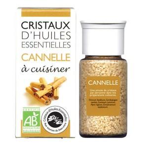 Cannelle - Cristaux d'huiles essentielles à cuisiner - Bio - Flacon 10g
