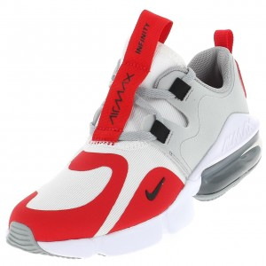 Sneakers Nike Air max infinity grises/rouges Junior