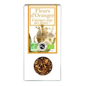 Fleurs d'oranger comestible bio pour infusion et cuisine - Boîte30gr
