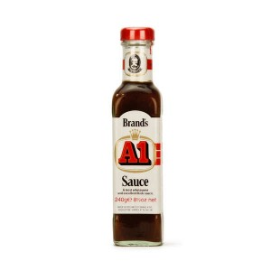 Sauce américaine pour steaks A1 - Bouteille 240g