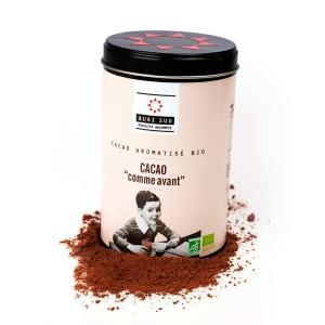 Cacao comme avant bio - Boite 250g