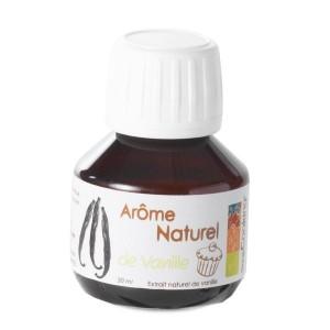Arôme naturel goût vanille 50 ml Scrapcooking