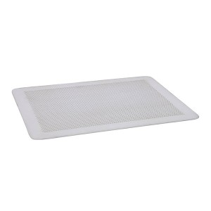 Plaque de cuisson perforée sans rebords en aluminium 30 x 20 cm De Buyer
