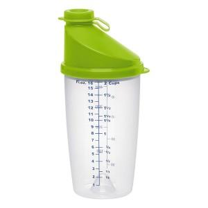Shaker gradué Superline vert 0,5 L Emsa
