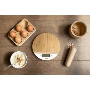 Balance ronde en bambou 19 cm Pebbly