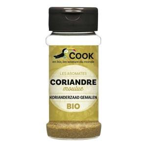 Coriandre moulue bio - Flacon30g