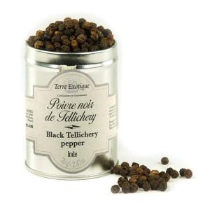Poivre noir de Tellicherry - Pot 60g