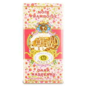 Tablette de chocolat noir framboise - Tablette 100g