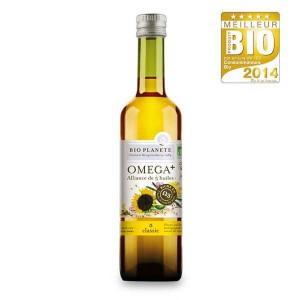 Huile mélange Omega+ Bio - Bouteille 500ml