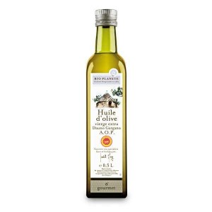 Huile d'olive vierge extra d'Italie DOP Gargano Bio - Bouteille 50cl