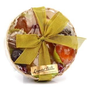 Panier de fruits confits de Provence - Vannerie 320g