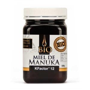 Miel de Manuka actif Bio TPA 12+ - Pot 500g