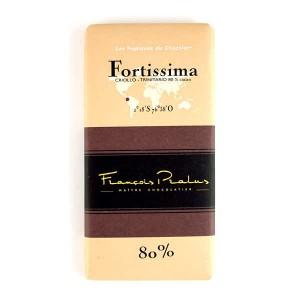 Tablette Fortissima - Criollo, Forastero et Trinitario 80% - Tablette 100g