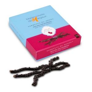 Sarments du Médoc chocolat noir framboise - Etui 125g