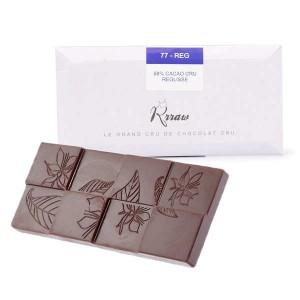 Tablette de chocolat cru (77%) et réglisse bio - Tablette 45g