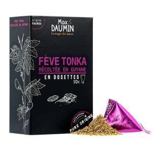 Dosettes de Fèves Tonka de Guyane - Boite de 10 dosettes