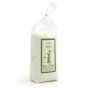Farine de riz artisanale italienne - Sachet 500g