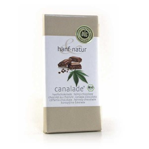 Chocolat au lait aux graines de chanvre bio - Tablette 100g