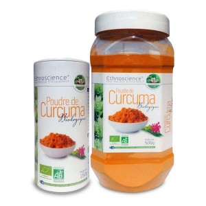 Poudre de curcuma bio - Boite 150g