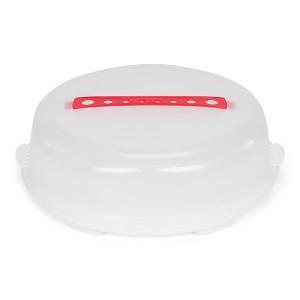 Boîte de transport pour gâteau rond 36 cm Patisse