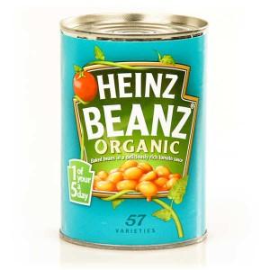 Baked beans bio - Haricots blancs à la sauce tomate - Boîte 415g
