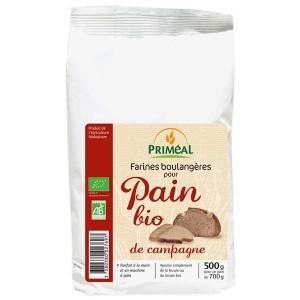 Farine boulangère pour pain de campagne bio - Sachet 500g