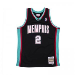 Maillot NBA Jason Williams Memphis Grizzlies 2001-02 Mitchell & ness Hardwood Classics Noir