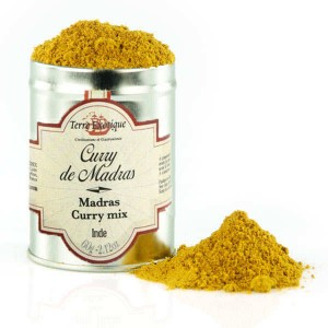 Curry de Madras d'Inde - Sachet 500g