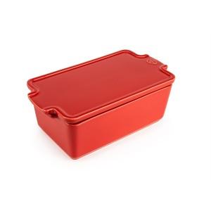 Terrine céramique rouge 20 cm 700 ml Peugeot