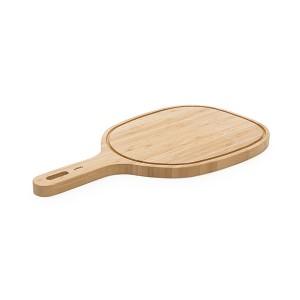 Grande planche à découper à poignée bambou 47,5 cm Pebbly