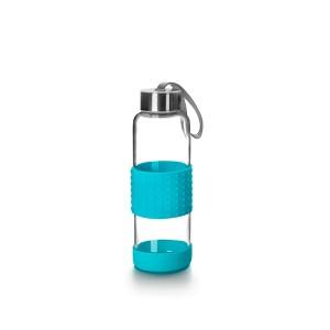 Bouteille bleu en verre 360 ml Ibili