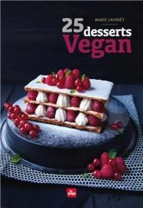 "Livre ""25 desserts vegan"""