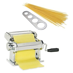 Lot machine à pâtes  + doseur à spaghettis en inox