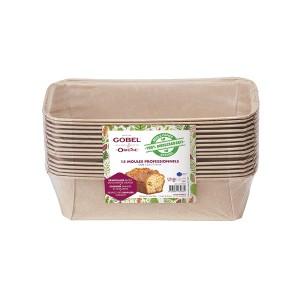 Pack de 15 moules à cake Gobel