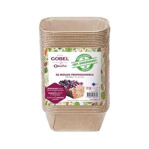 Pack 50 moules mini cake Gobel