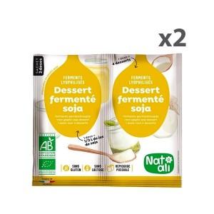 Lot de 2x2 doses Ferments soja