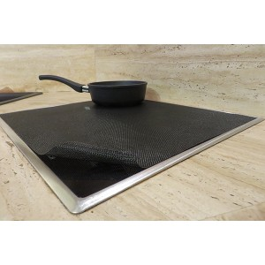 Protection plaque induction rectangle