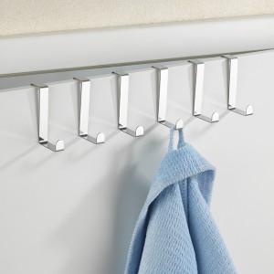 Crochets de porte inox x6